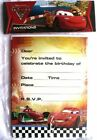 Cars Birthday Greeting Cards & Invitations
