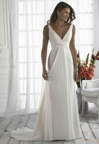 Grecian Wedding Dress | eBay