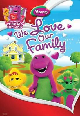 We Love Our Family - DVD By Barney - VERY GOOD - $4.78