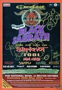 Black Sabbath Signed