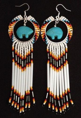 Native american beaded jewelry ebay for How to make american indian jewelry