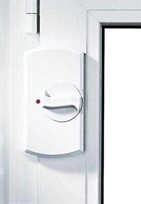 IKON 9M03 Krallfix 1 Fenstersicherung Weiß Balkonsicherung Drehknauf NEU VdS 1