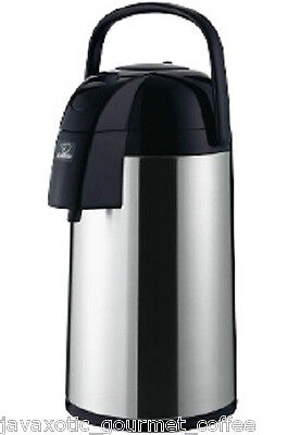 Zojirushi Thermal Airpot Coffee Tea Beverage Dispenser 3 Liter 101oz Aawe-30sb