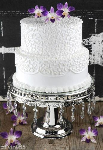 cake plates for wedding wedding cake stands crystals ebay 2275