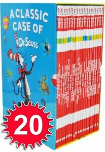 A-Classic-Case-of-Dr-Seuss-20-Books-Box-Set-Pack-Collection-Includes-Lorax-NEW