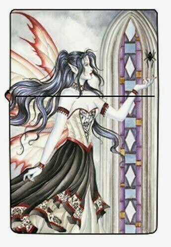 Nene Thomas Arachne Fairy Goth Metal Lighter Spider Brand New Refillable Fantasy