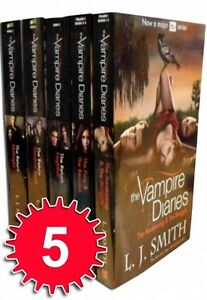 The Vampire Diaries Story Collection L J Smith 7 Books Set (ITV 2 TV Series)