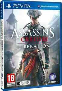 Assassin-s-Creed-3-Liberation-PS-Vita-NEW-SEALED-Assassins-Creed-III-Liberation