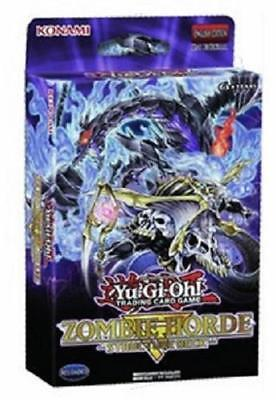 Yugioh Zombie Horde Structure Deck 2018 1st Edition - 42 cards! FASTEST - Zombie Horde