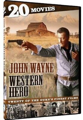 John Wayne  Western Hero   20 Movies  4 Discs  Dvd Region 1
