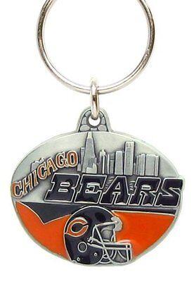 - NFL Team Design Key Ring - Chicago Bears
