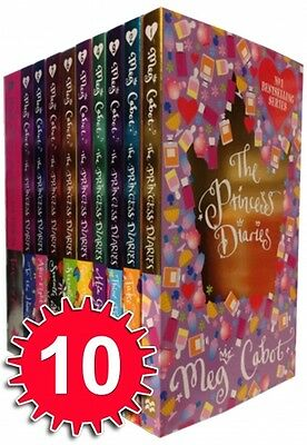 The Princess Diaries Collection Meg Cabot 10 Books Set Girl's Interest Pack NEW