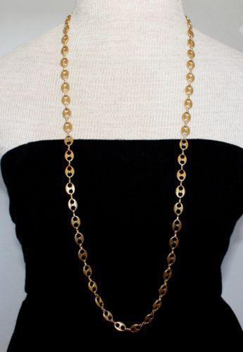 Gucci Link Necklace Ebay