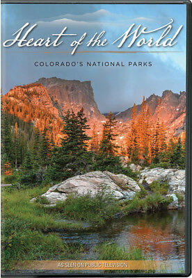 Colorado Heart - Heart Of The World: Colorado's National Parks [New DVD]