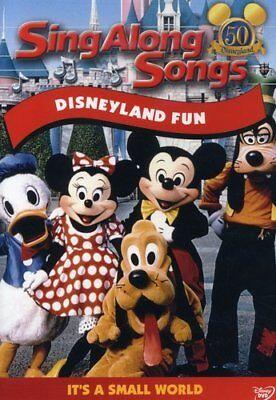 Sing Along Songs Disneyland Fun Wayne Allwine Kids Family DVD BEST SELLING ADDON Best Sing Along Songs