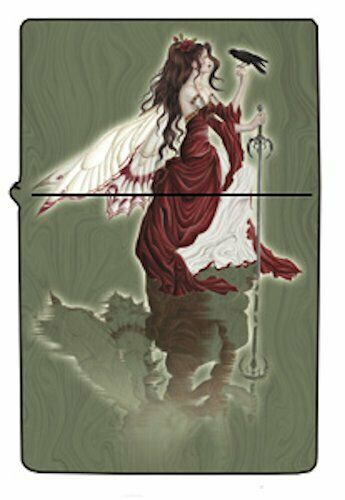 Nene Thomas Always Fairy Crow Metal Lighter Fantasy Empty Brand New Refillable