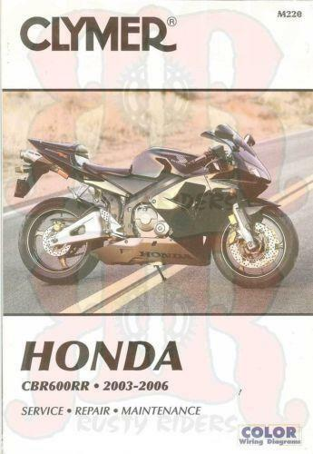 Honda cbr600rr manual ebay fandeluxe Image collections