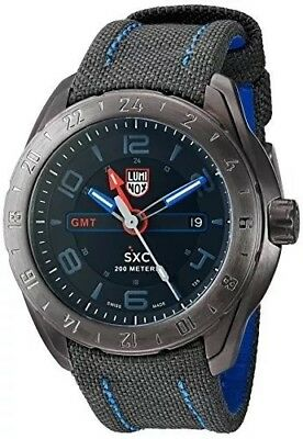 Luminox XCOR Aerospace Mens A.5121.GN SXC Analog Display Swiss Quartz Grey Watch
