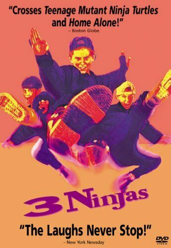 3 NINJAS New Sealed DVD