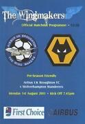 Wolves Football Programmes