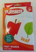 Playskool Flash Cards