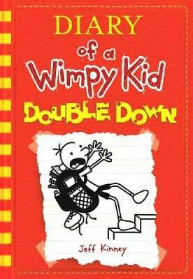 Diary of a Wimpy Kid # 11: Double Down - Hardcover By Kinney, Jeff - VERY GOOD