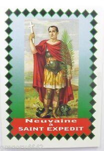 Livret neuvaine de saint expedit ebay - Neuvaine st joseph pour vendre sa maison ...