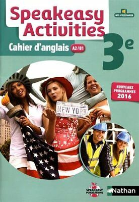 Speakeasy Activities 3e : Cahier d'anglais A2/B1 (Broché) LIVRE (ENGLISH)