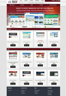 Turnkey Websites Store Website Preloaded Free Hosting Installation