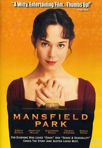 Mansfield Park (2011, DVD NEW)