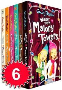 Malory-Towers-Collection-Enid-Blyton-6-Books-Set-Series-2-Pack-Vol-7-to-12-NEW
