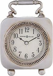 Howard Miller Kegan Table Clock 645-615 – Dial Light with Quartz Alarm