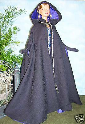 """CAPE 22"""" SEWING PATTERN for 22"""" DOLLS TONNER -AMERICAN  MODEL"""