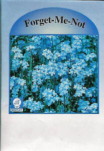 Flower Seed Packets, Forget-Me-Not, 50 Pkg - Marketing Advertising Promotion