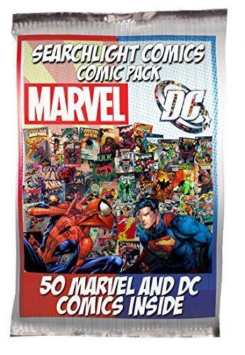 1 box Lot of 50 comics Marvel DC ONLY NO duplication Superman Batman Spider-man