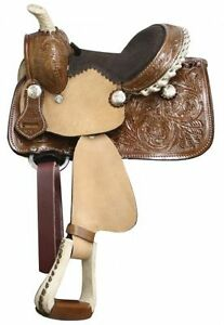 "8"" Western Saddle Toddler Kids Pony Miniature Horse New 297 DEAL London Ontario image 5"