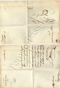 Prefilatelia-Lettera-in-franchigia-da-Peschiera-a-Bussolengo-Verona-1872
