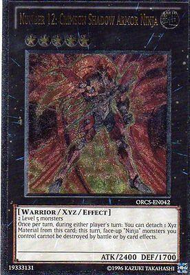 stung von Shadow Scarlet Yu-Gi-Oh! ORCS-EN042 Eng Ultimate (Ninja-rüstung)