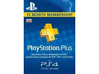 Playstation PLus (PS Plus) 12 Month Subscription Key (Cheapest in the UK)