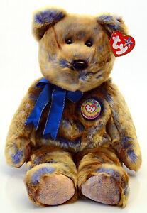 Clubby III the BBOC Bear Ty Beanie Buddy stuffed animal