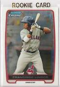 Francisco Lindor Bowman Chrome