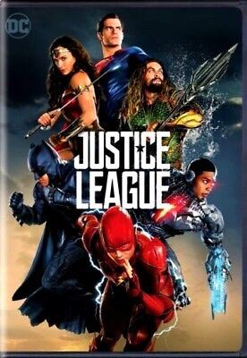Justice League  Dvd  2017  New  Action  Adventure  Pre Order Ships On 03 13 18