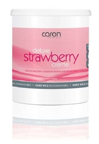 CARON Deluxe Strawberry Creme Hard Wax 800g ~ Professional Size