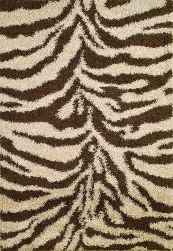 Brown Zebra Print Rug Ebay