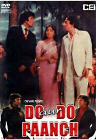 Do Aur Do Panch Bollywood dvd movie - (very good condition)