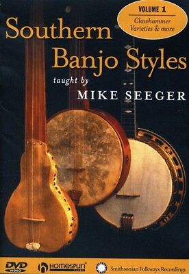 Southern Banjo Styles: One Songs [New DVD] Banjo Style Dvd