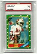 1986 Jerry Rice PSA