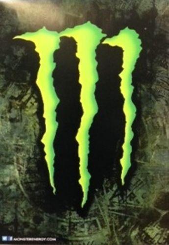 monster energy drink poster ebay. Black Bedroom Furniture Sets. Home Design Ideas