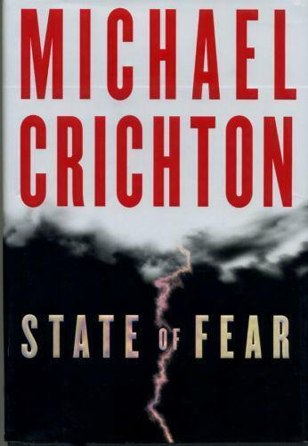 MICHAEL CRICHTON STATE OF FEAR SIGNED/DATED FIRST EDITION