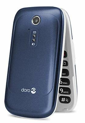 New Doro 6520 Big Buttons Loud and Clear Sound Flip Unlocked Mobile Phone